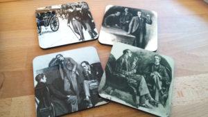Sherlock Holmes Coasters Set I
