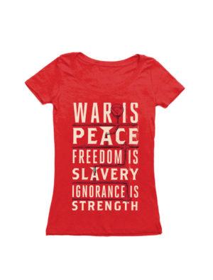 1984: WAR IS PEACE (SCOOP) T-Shirt