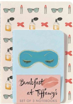 Breakfast at Tiffany's Notebooks: Set of 3