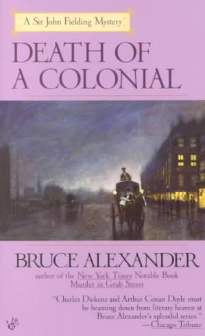 Death of a Colonial by Bruce Alexander