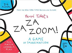 Hervé Tullet's ZaZaZoom!: A Game of Imagination: Mix. Match.