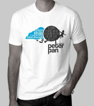 Peter Pan T-Shirt plus Issue 52 with the Unpublished play by J.M. Barrie