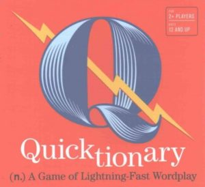 Quicktionary- A Game of Lightning-fast Wordplay