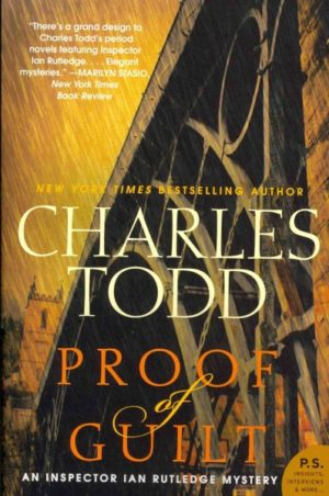 proof of guilt charles todd