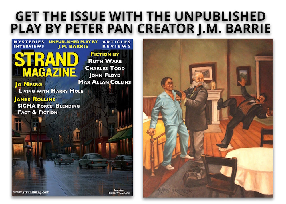 Unpublished J.M. Barrie Play