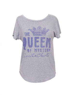 The Queen of Mystery Agatha Christie T-SHIRT (Women's)