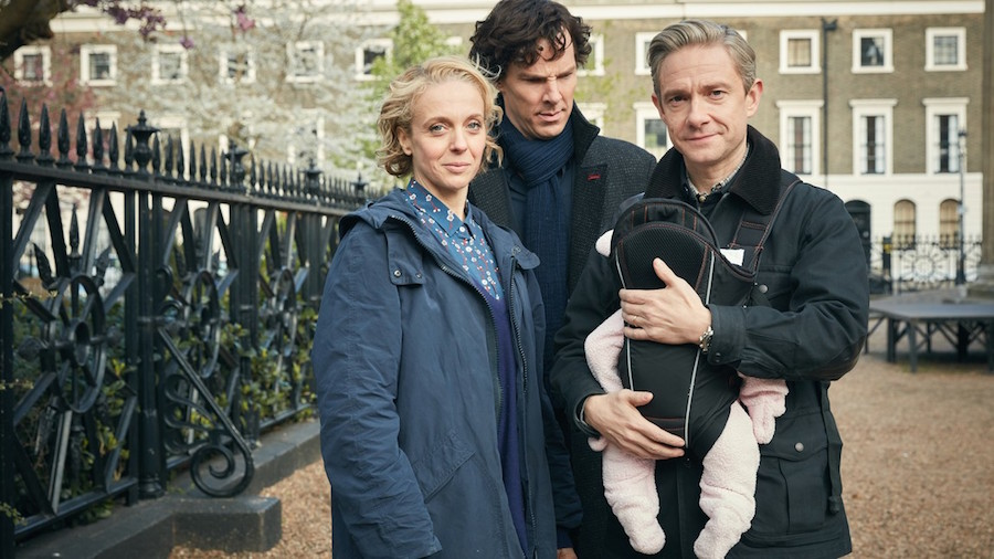 DVD Review– Sherlock: Season 4