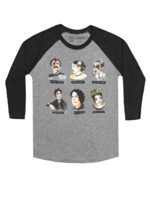 Punk Rock Authors Long Sleeve T-Shirt (Unisex)