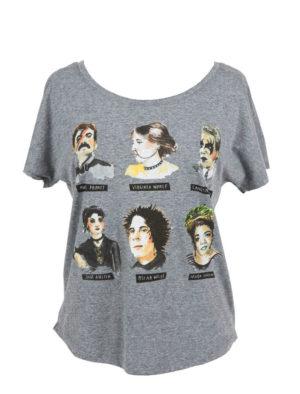 Punk Rock Authors Sleeve T-Shirt (Women's)