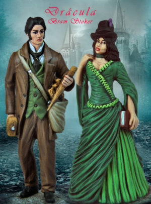 Jonathan and Mina Harker Set