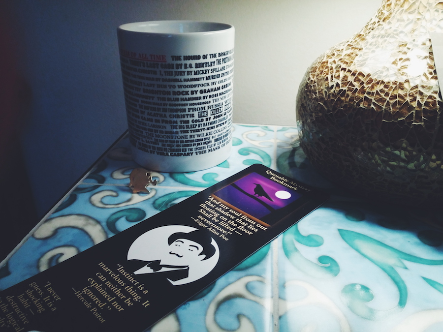 mug and bookmark