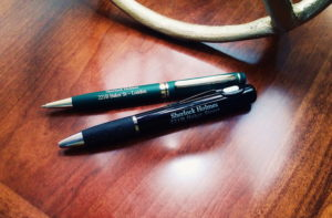 sherlock pen set