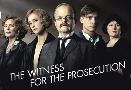 DVD Review– Agatha Christie's The Witness for the Prosecution
