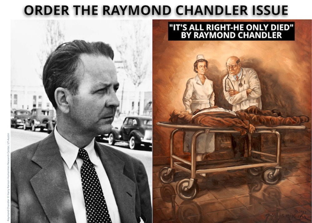 issue with the unpublished Raymond Chandler story