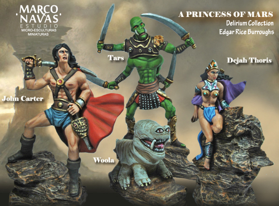 Complete Princess of Mars Collection