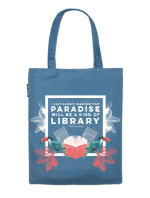 Library Paradise Tote