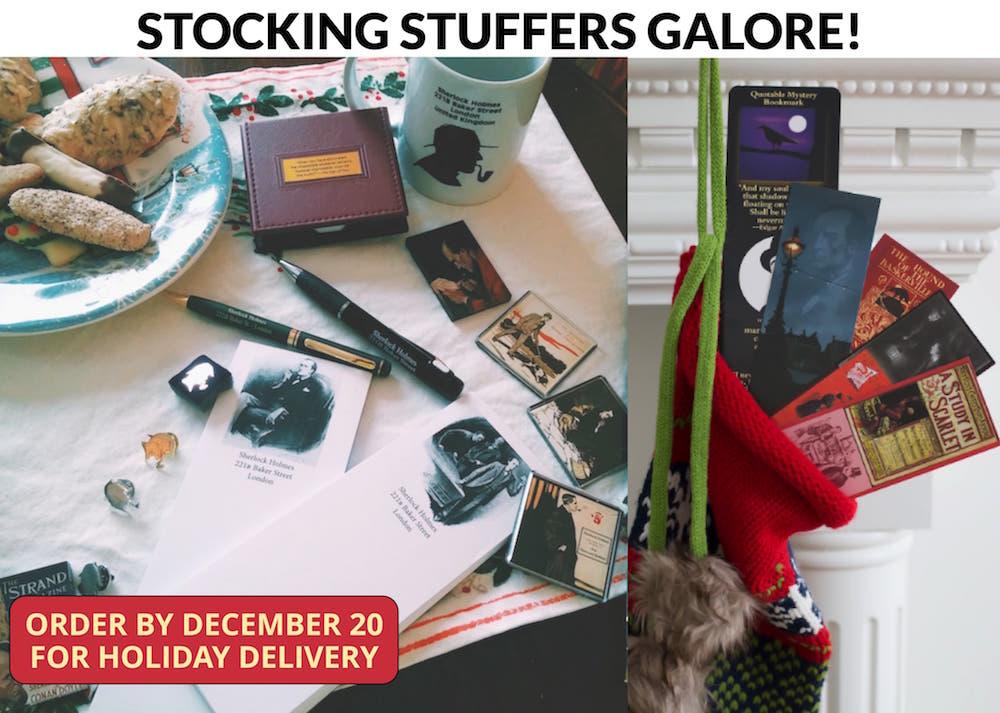 Strand Magazine stocking stuffers