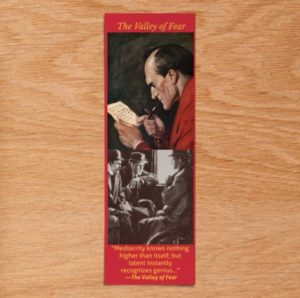 The Valley of Fear Bookmark