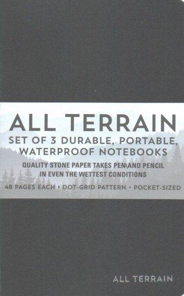 All Terrain: The Waterproof Notebook