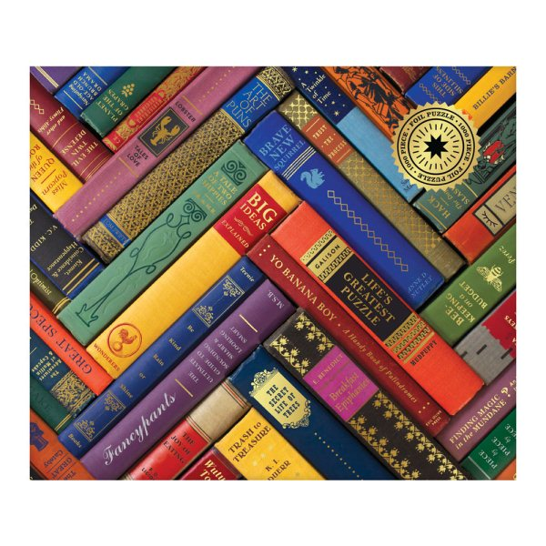 Phat Dog Vintage Library: 1000 Piece Foil Stamped Puzzle
