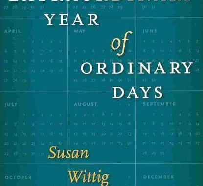An Extraordinary Year of Ordinary Days by Susan Wittig Albert (Hardcover)