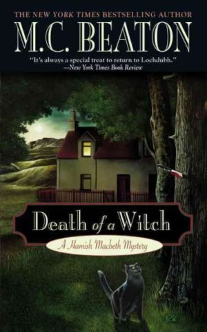 Death of a Witch by M.C. Beaton (paperback)