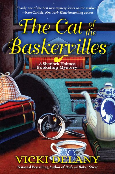 The Cat of the Baskervilles by Vicki Delany (hardcover)