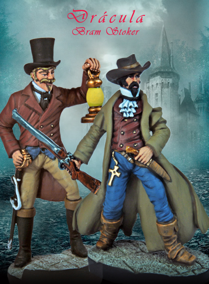 Arthur Holmwood & Quincey Morris Figurines