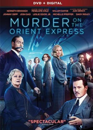 Murder On The Orient Express DVD (Blu Ray)