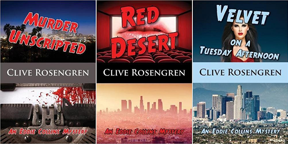 Murder Unscripted / Red Desert / Velvet on a Tuesday Afternoon by Clive Rosengren