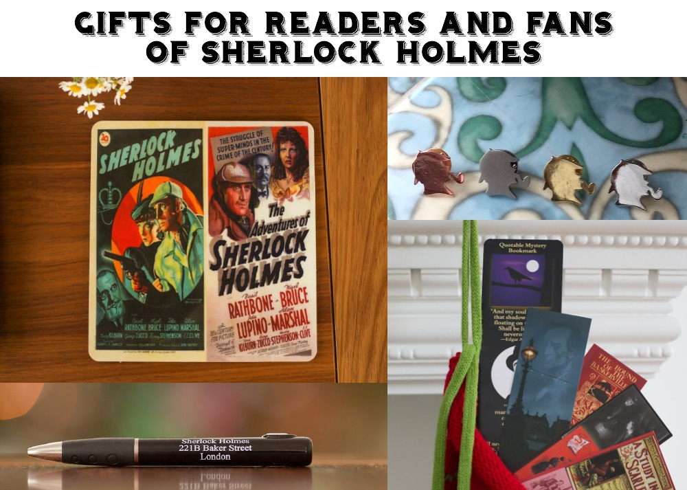 GIFTS FOR FANS OF SHERLOCK HOLMES