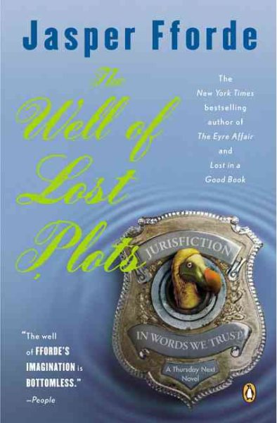 Thursday Next in the Well Of Lost Plots by Jasper Fforde (paperback)