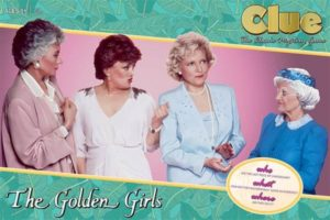 Hilarious mystery of who Ate the cheesecake Custom illistrated game board to feature the golden girls house Play as your favorite golden girl