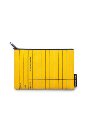 Library Card Pouch (Yellow)