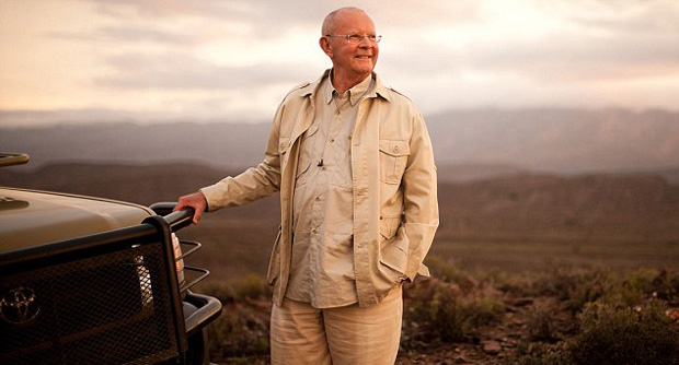 A portrait of Wilbur Smith
