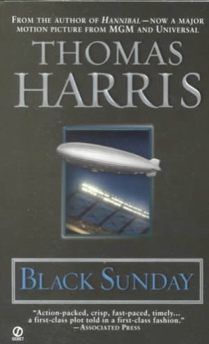 Black Sunday by Thomas Harris (paperback)