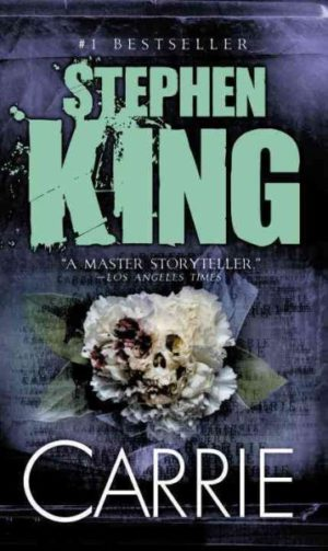 Carrie by Stephen King (paperback)