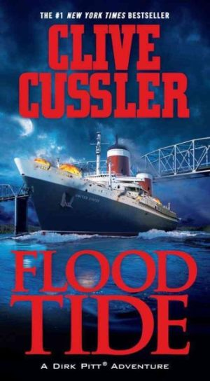 Flood Tide by Clive Cussler (paperback)