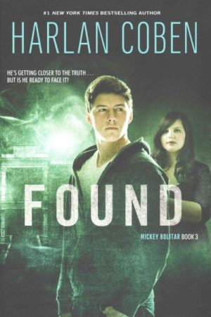 Found by Harlan Coben (paperback)