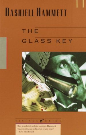 Glass Key by Dashiell Hammett (paperback)