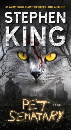 Pet Sematary by Stephen King (paperback)