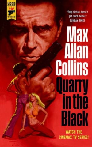 Quarry in the Black by Max Allan Collins (paperback)