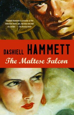 The Maltese Falcon by Dashiell Hammett (paperback)
