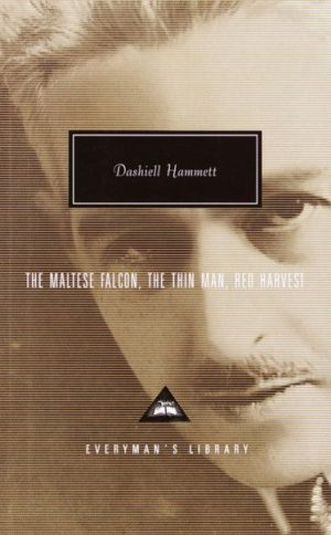 The Maltese Falcon, the Thin Man, Red Harvest by Dashiell Hammett (hardcover)