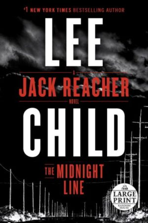 The Midnight Line by Lee Child (paperback) (large print)
