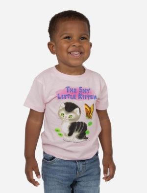 THE SHY LITTLE KITTEN /YA T-Shirt