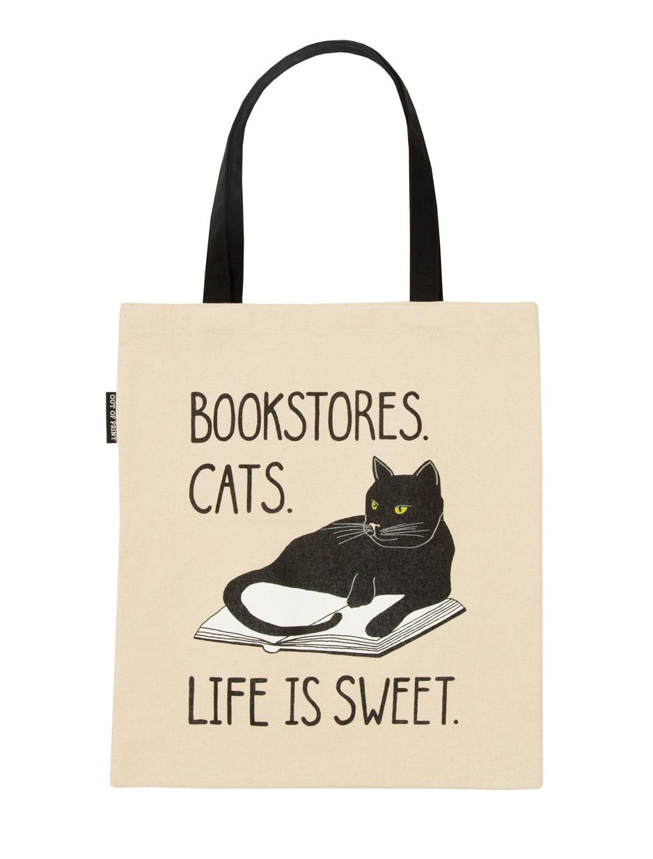 Cat Cotton Tote Bag