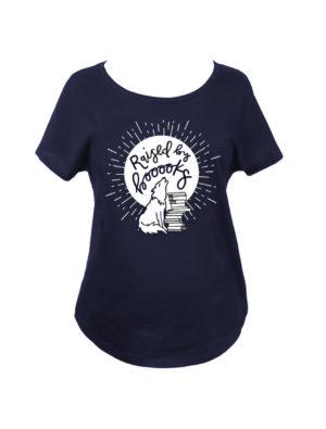 Raised by Books T-Shirt (Women's)