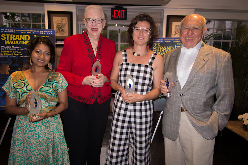 Ivy Pochoda and Sheena Kamal win Strand Critics Awards for Best Novel and Best Debut Novel, and J.A. Jance and Jonathan Gash are awarded lifetime Achievement Awards and the first Publisher of the Year Award goes to Tom Doherty…