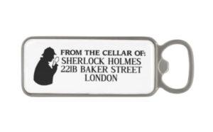 Sherlock Holmes Magnetic Bottle Opener